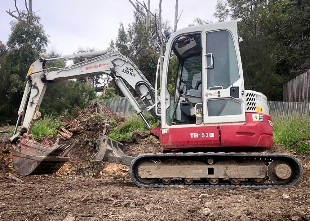 5 Tonne Takeuchi Excavator
