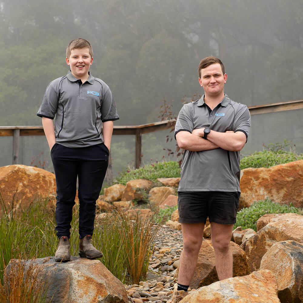 Jack and Matt Brydon PCB Waterscapes Yarra Valley